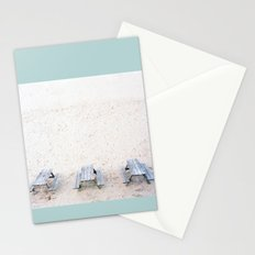 picnic triptych Stationery Cards