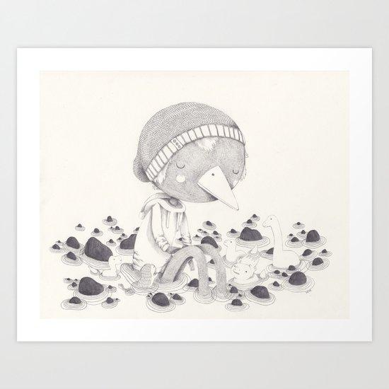 Géant Art Print