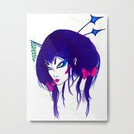 Electric Geisha Metal Print