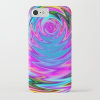 60s iPhone & iPod Cases featuring Psychedelic 60s by Alice Gosling