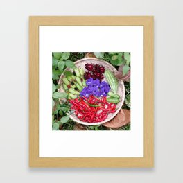 FRESHLY PICKED! Framed Art Print
