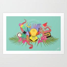 Retrophilia Art Print