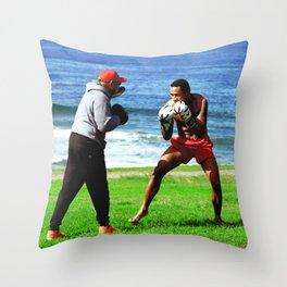Bondi Boxer Throw Pillow