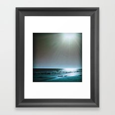 Silver and Gold Framed Art Print