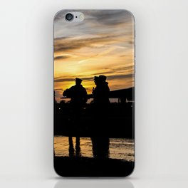 soldier sunset - 1 iPhone Skin