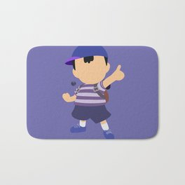 Ness(Blue)Smash Bath Mat