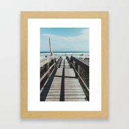 South 1st Framed Art Print