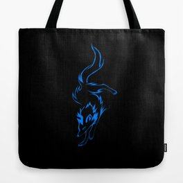 The Blue Wolf Tote Bag