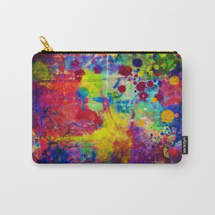 colorful canvas ii Carry-All Pouch