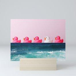 Rubber ducks Mini Art Print