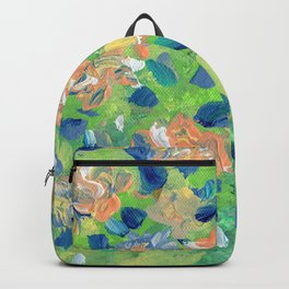 Just Because - Abstract floral Backpack