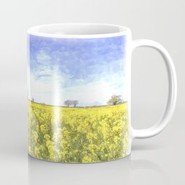 Summer Farm Trees Art Coffee Mug