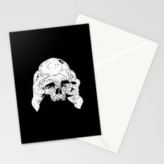 Skull In Hands Stationery Cards