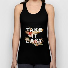 Take It Easy Unisex Tank Top