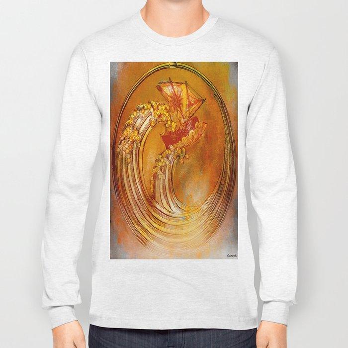 La vague Long Sleeve T-shirt