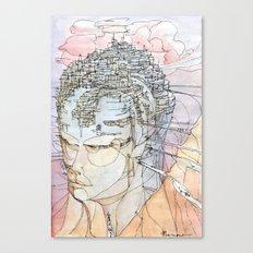Ricordi di sogni lontani Canvas Print