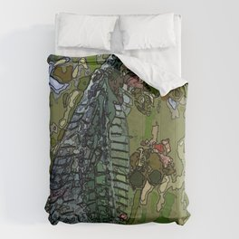 Damsel Fly Comforters