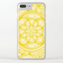 Golden decorative art Clear iPhone Case
