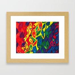 Tribute to the Decendents of the Goddex Kunta (rainbow) Framed Art Print