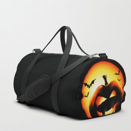 Smile Of Scary Pumpkin Duffle Bag