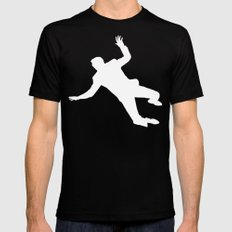 North By Northwest Black LARGE Mens Fitted Tee