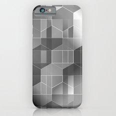 HexiPlaid Silver iPhone 6s Slim Case