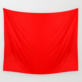 Red Rojo Rouge Rot красный Wall Tapestry