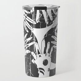 Hidari Gomon and Hajichi - Okinawan Pride - Traditional Tattoo Art Travel Mug
