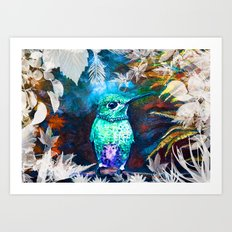 Posh Bird Art Print