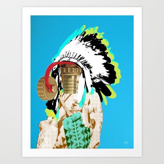 Indian Pop 37 Art Print