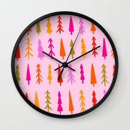 Tree Print Wall Clock