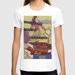 Travel The World Through Books T-shirt