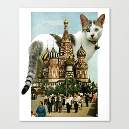 St. Basil's Cat-thedral Canvas Print