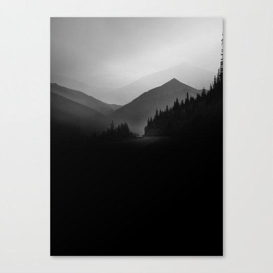 Dusky Mountains Canvas Print