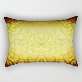 Challenge the Dragon Rectangular Pillow