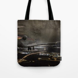 Wind 360 20 kts clear to land Tote Bag