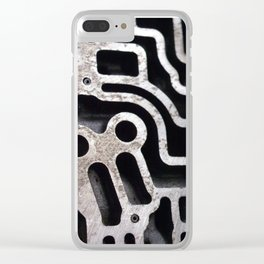 Gears I Clear iPhone Case