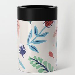 Island Floral Can Cooler