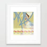 wallpaper Framed Art Prints featuring Wallpaper by John Murphy