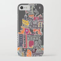 compass iPhone & iPod Cases featuring Compass by inktheboot