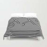 bicycle Duvet Covers featuring Bicycle by AndISky