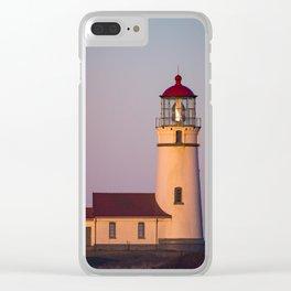 Cape Blanco Lighthouse Sunrise Clear iPhone Case