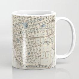 Vintage Map of Des Moines IA (1875) Coffee Mug