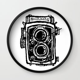 Rolleicord TLR camera Wall Clock