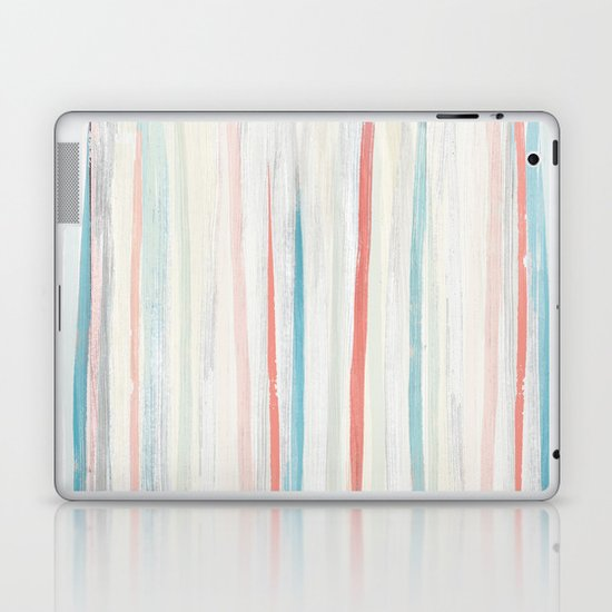 Painterly Stripes Laptop & iPad Skin