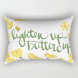 Lighten Up Buttercup! Rectangular Pillow