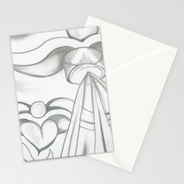 Shadow Angel Stationery Cards