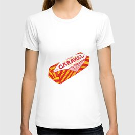 Caramel Wafer pen drawing T-shirt