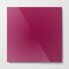 Red & Purple XIV Metal Print