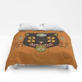 Spooky Cat Comforters